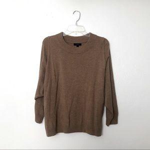 J Crew Wool Blend Dolman Oversized Sweater